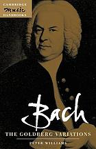 Bach, the Goldberg variations