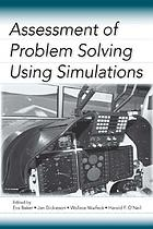Assessment of problem solving using simulations