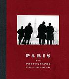 Paris : photographs from a time that was