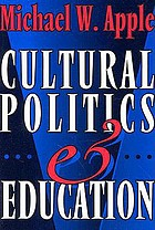 Cultural politics and education