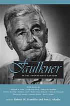 Faulkner in the twenty-first century Faulkner and Yoknapatawpha, 2000