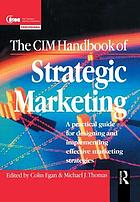 The CIM handbook of strategic marketing