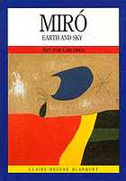 Miró : earth and sky