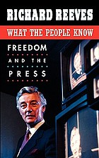 What the people know : freedom and the press