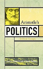 Aristotle's Politics : critical essays