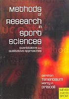 Methods of research in sport sciences : quantitative and qualitative approaches