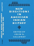New directions in American Indian history