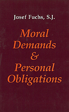 Moral demands and personal obligations