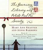 The Guernsey literary and potato peel pie society a novel