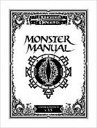 Dungeons & dragons dungeon monster manual : core rulebook III v.3.5