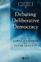 Debating deliberative democracy