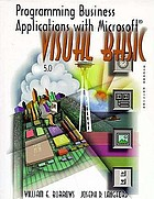 Programming business applications with Microsoft Visual Basic : version 5.0