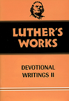 Luther's works : deviotional writings II