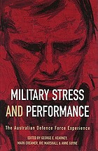 Military stress and performance : the Australian Defence Force experience