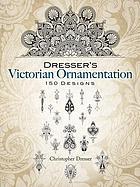 Dresser's Victorian ornamentation : 150 designs