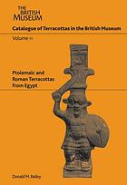 Catalogue of the terracottas in the Department of Greek and Roman Antiquities, British Museum