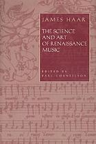 The science and art of Renaissance music