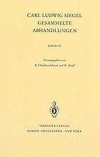 Gesammelte Abhandlungen