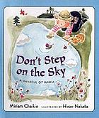 Don't step on the sky : a handful of haiku