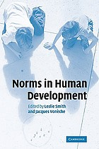 Norms in human development