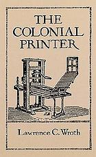 The colonial printer
