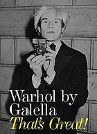 Warhol by Galella : that's great!