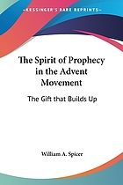 The Spirit of prophecy in the Advent movement : a gift that builds up