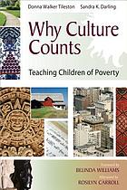 Why culture counts : teaching children of poverty