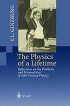 The physics of a lifetime : reflections on the problems and personalities of 20th century physics