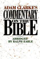 Adam Clarke's commentary on the Bible