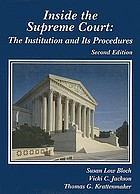 Inside the Supreme Court : the institution and its procedures