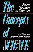 The concepts of science from Newton to Einstein