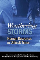 Weathering storms : human resources in difficult times