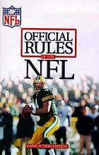 Official playing rules of the National Football League