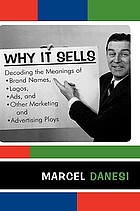 Why it sells : decoding the meanings of brand names, logos, ads, and other marketing and advertising ploys