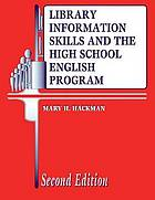 Library information skills and the high school English program