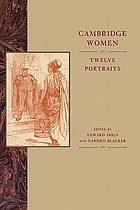 Cambridge women : twelve portraits