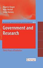 Government and research : thirty years of evolution
