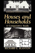 Houses and households : a comparative study