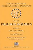 Letters of St. Paulinus of Nola