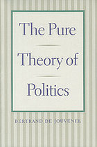 The pure theory of politics