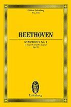 Symphony no. 1, C major, op. 21