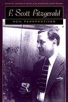 F. Scott Fitzgerald : new perspectives