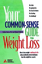 The commonsense guide to weight loss for people with diabetes