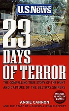 23 days of terror : the comprehensive story of the Beltway snipers