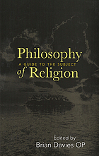 Philosophy of religion : a guide to the subject