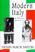 Modern Italy : a political history