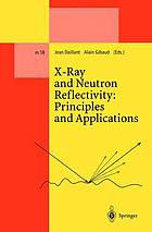 X-ray and neutron reflectivity : principles and applications