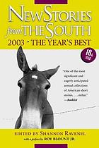 New stories from the South : the year's best, 2003