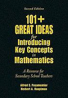 101 (+13) great ideas for introducing key concepts in mathematics : a resource for secondary school educators